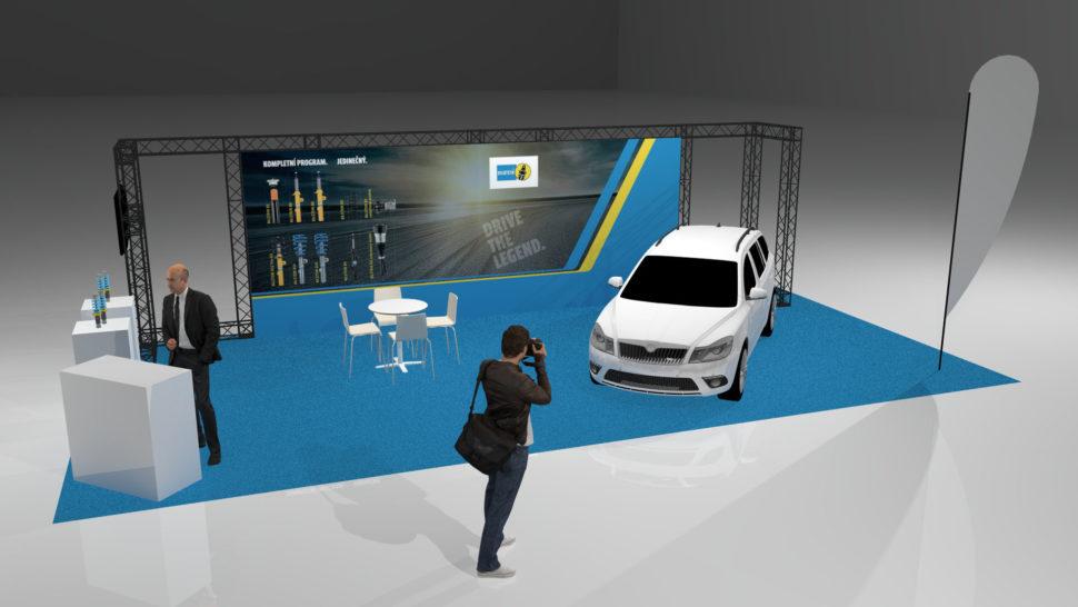 3D vizualizace astánky vMSP
