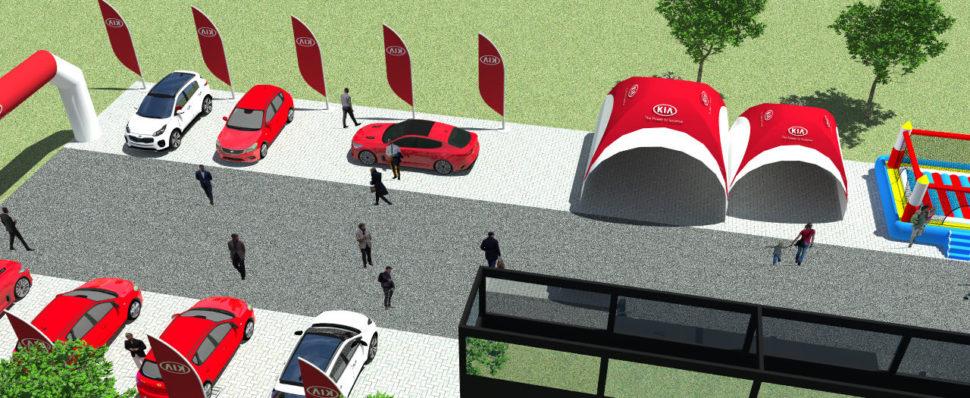 3D vizualizace outdoorových akcí vMSP