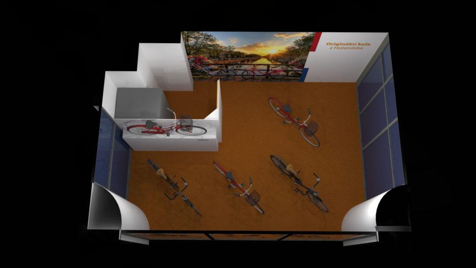 3D vizualizace obchodů, kanceláří apokojů vMSP