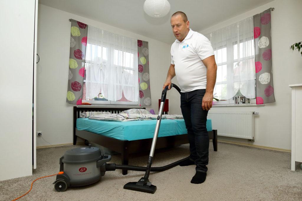 hloubkové čištění MSP Cleaning Services