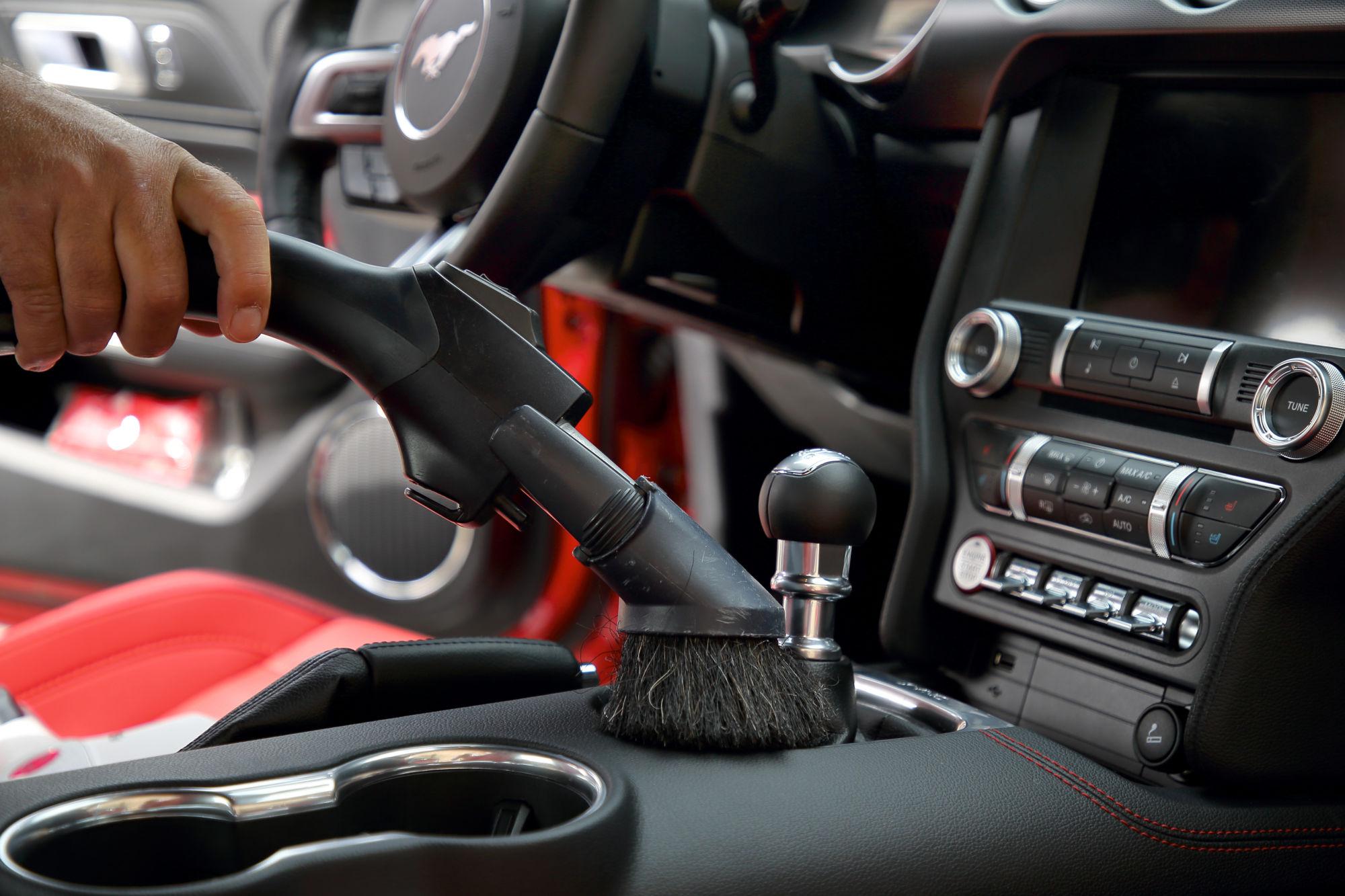 MSP čištění a dezinfekce automobilu