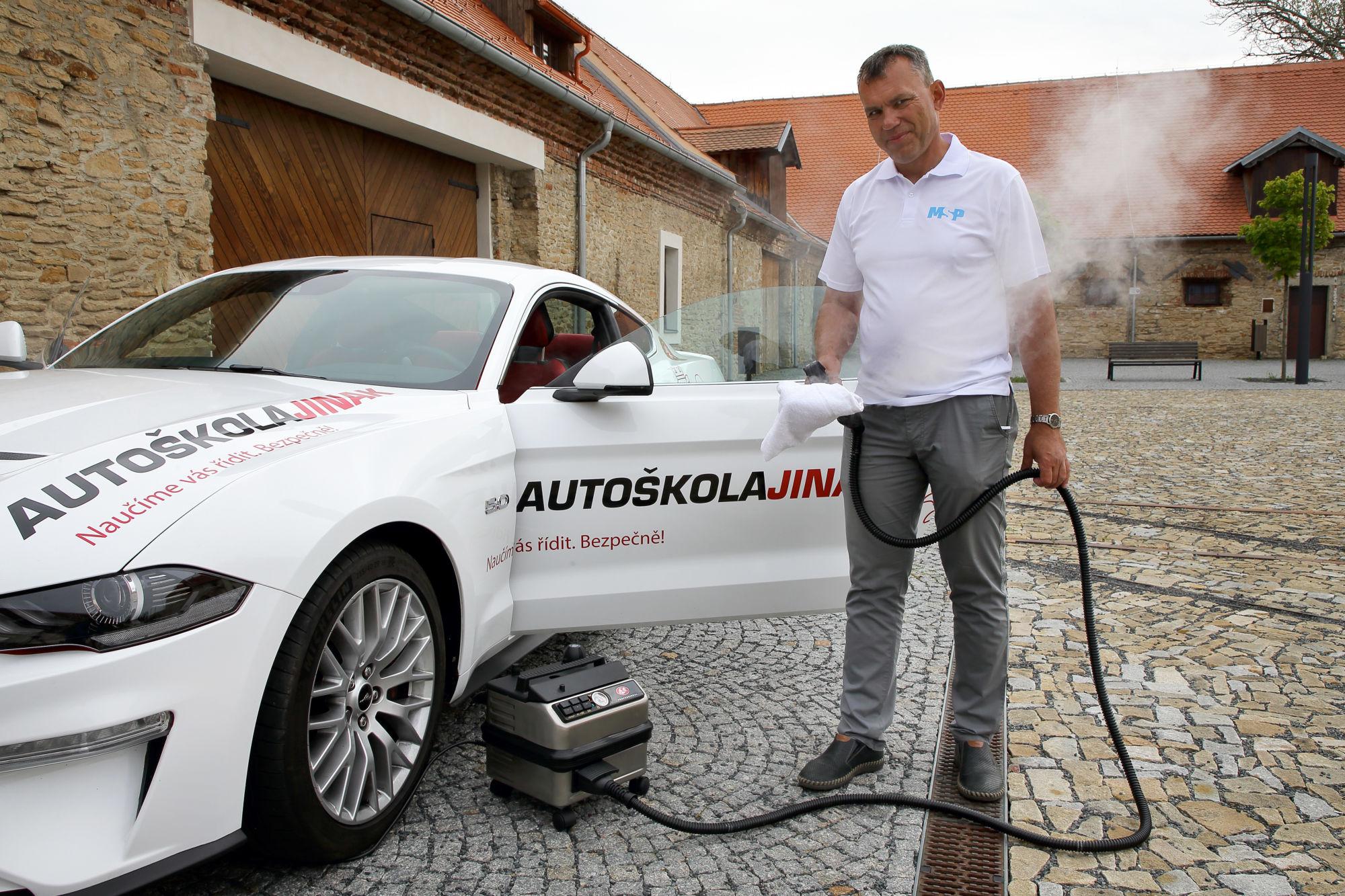 MSP čištění adezinfekce automobilu