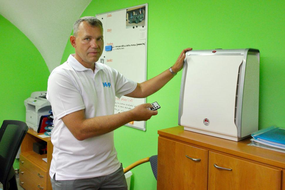 MSP čištění a dezinfekce kanceláře